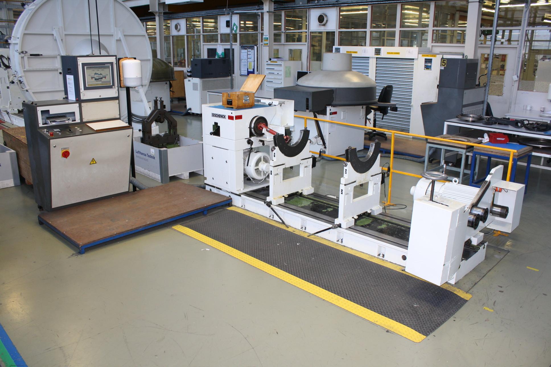schenck balancing machine parts