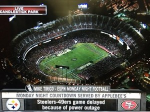 candlestick_TV_outage