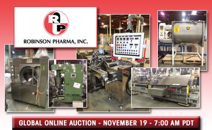 <h1>Robinson Pharma, Inc.</h1>