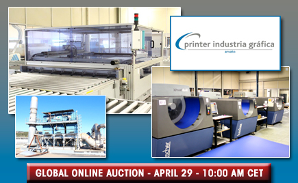 <h1>Printing Equipment Auction &#8211; Former Printer Industria Grafica Assets</h1>