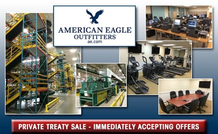 <h1>American Eagle Outfitters Distribution Warehouse</h1>