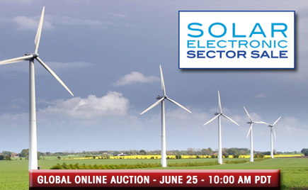 <h1>Solar and Electronic Sector Sale</h1>