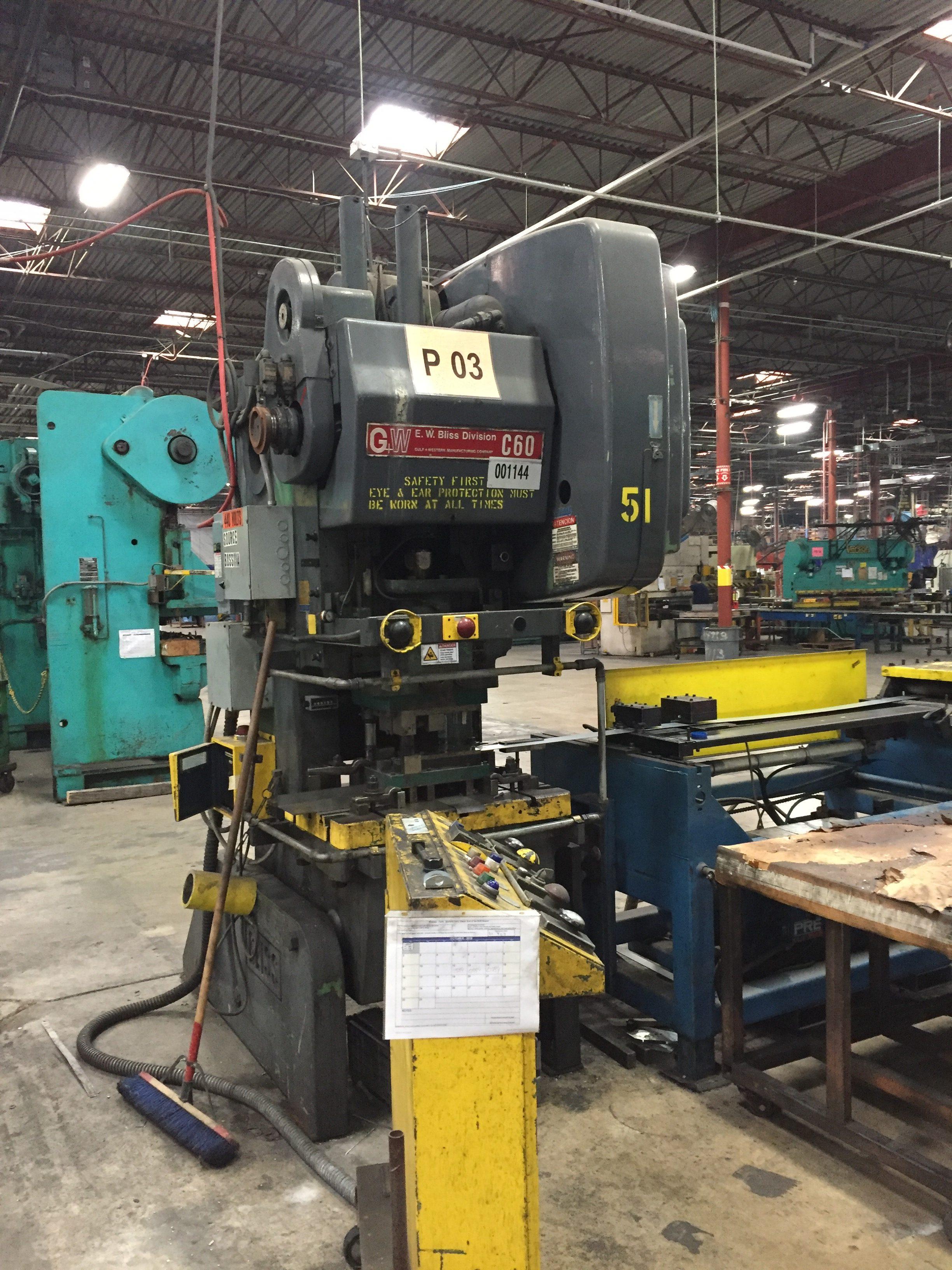 Kln Manufacturing Liquidation Auction Equipment